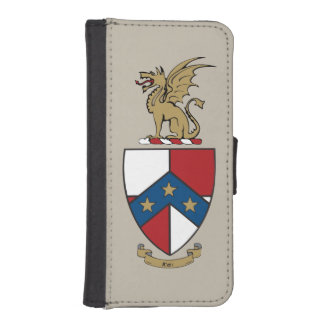 Beta Theta Pi Coat of Arms iPhone SE/5/5s Wallet Case