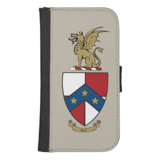 Beta Theta Pi Coat of Arms Samsung S4 Wallet Case