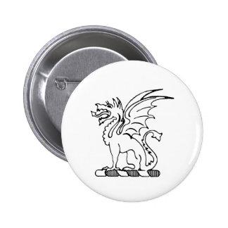 Beta Theta Pi Crest 6 Cm Round Badge