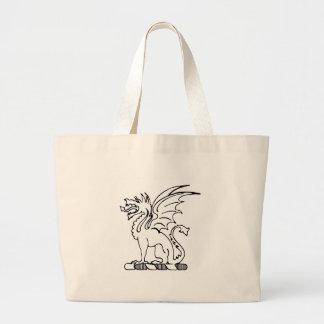 Beta Theta Pi Crest Large Tote Bag