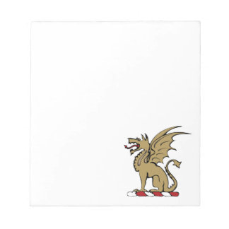 Beta Theta Pi Crest Notepad