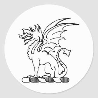 Beta Theta Pi Dragon Sticker