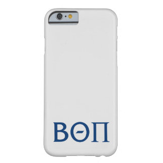 Beta Theta Pi Greek Letters Barely There iPhone 6 Case