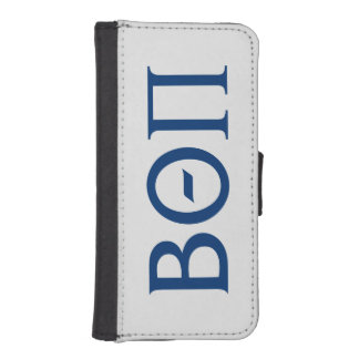 Beta Theta Pi Greek Letters iPhone SE/5/5s Wallet Case