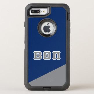 Beta Theta Pi   Greek Letters OtterBox Defender iPhone 8 Plus/7 Plus Case