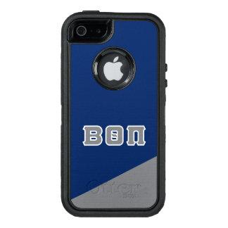 Beta Theta Pi   Greek Letters OtterBox Defender iPhone Case