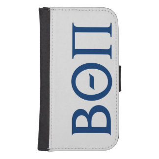 Beta Theta Pi Greek Letters Samsung S4 Wallet Case