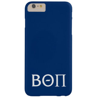 Beta Theta Pi Greek Letters - White Barely There iPhone 6 Plus Case