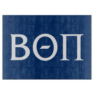 Beta Theta Pi Greek Letters - White Cutting Board