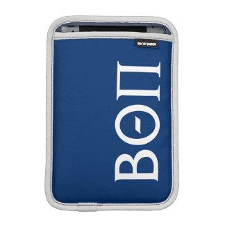 Beta Theta Pi Greek Letters - White iPad Mini Sleeve