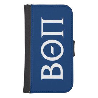 Beta Theta Pi Greek Letters - White Samsung S4 Wallet Case