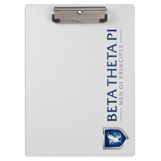 Beta Theta Pi Men Of Principle Clipboard
