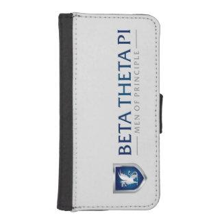 Beta Theta Pi Men Of Principle iPhone SE/5/5s Wallet Case