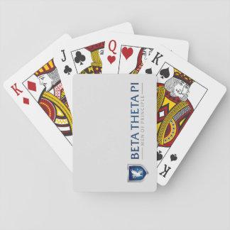 Beta Theta Pi Men Of Principle Playing Cards