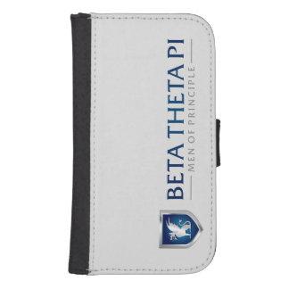 Beta Theta Pi Men Of Principle Samsung S4 Wallet Case