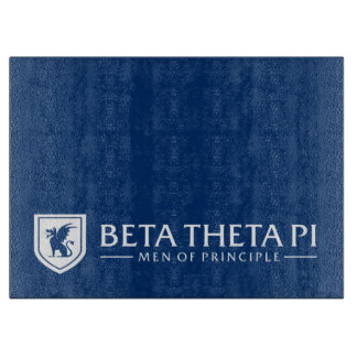Beta Theta Pi Men Of Principle - White Cutting Board