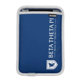Beta Theta Pi Men Of Principle - White iPad Mini Sleeve