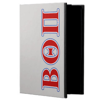 Beta Theta Pi Red and Blue Letters Case For iPad Air