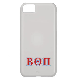 Beta Theta Pi Red and Blue Letters iPhone 5C Case