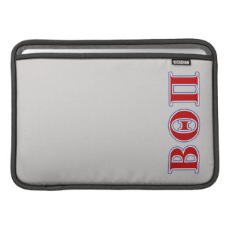 Beta Theta Pi Red and Blue Letters Sleeve For MacBook Air