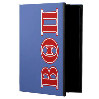 Beta Theta Pi Red Letters iPad Air Cover
