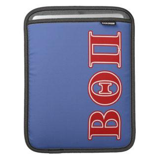 Beta Theta Pi Red Letters iPad Sleeve