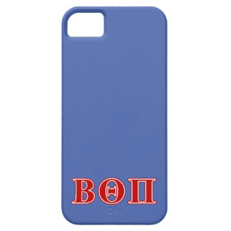 Beta Theta Pi Red Letters iPhone 5 Cases