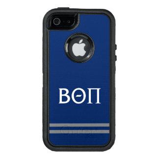 Beta Theta Pi   Sport Stripe OtterBox Defender iPhone Case
