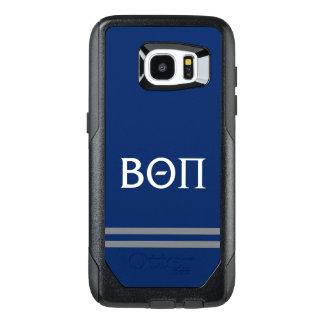 Beta Theta Pi | Sport Stripe OtterBox Samsung Galaxy S7 Edge Case