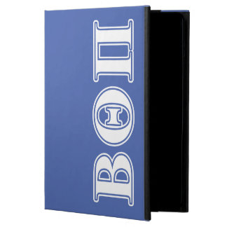 Beta Theta Pi White and Blue Letters Cover For iPad Air