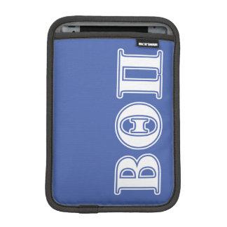 Beta Theta Pi White and Blue Letters iPad Mini Sleeve
