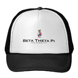 Beta Theta Pi with Crest - Color Cap