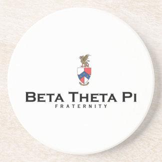 Beta Theta Pi with Crest - Color Coaster