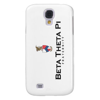 Beta Theta Pi with Crest - Color Galaxy S4 Case