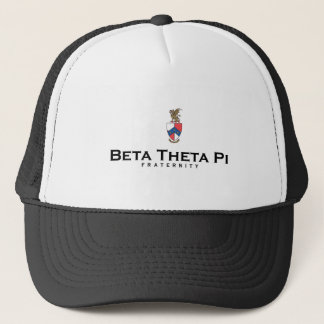Beta Theta Pi with Crest - Color Trucker Hat