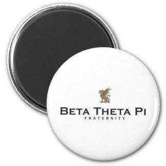 Beta Theta Pi with Dragon - Color 6 Cm Round Magnet