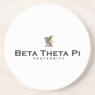 Beta Theta Pi with Dragon - Color Coaster