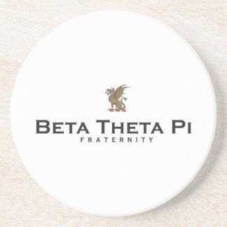 Beta Theta Pi with Dragon - Color Drink Coaster
