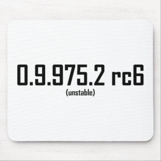 Beta version mousepads