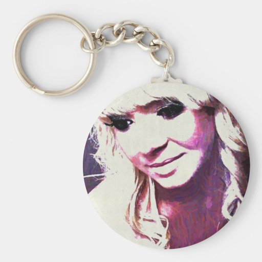 Beth Clews Glamour Model Key Chains