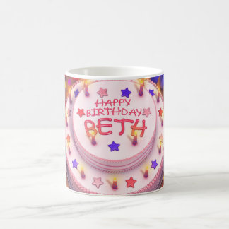 Beth s Birthday Cake Mugs