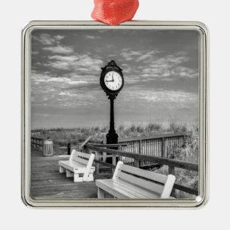 Bethany Beach, Delaware. Silver-Colored Square Decoration