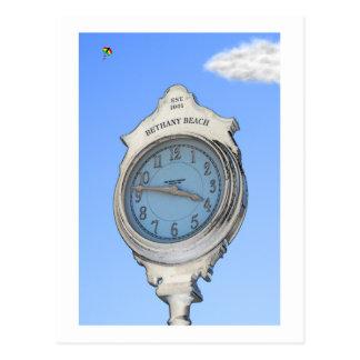 Bethany Clock and Kite Postcard