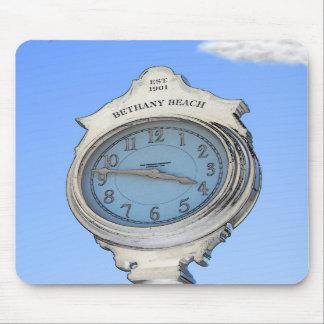 Bethany Clock Mousepad
