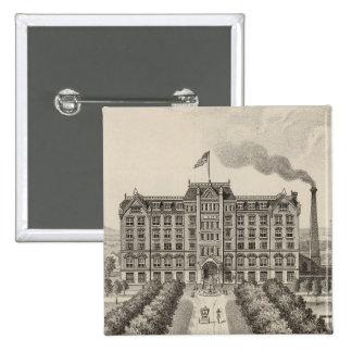 Bethany College, Lindsborg, Kansas 15 Cm Square Badge
