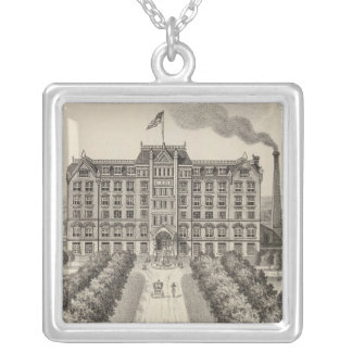 Bethany College, Lindsborg, Kansas Silver Plated Necklace