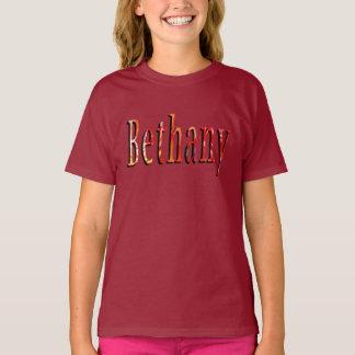 Bethany Girls Name Logo T-Shirt