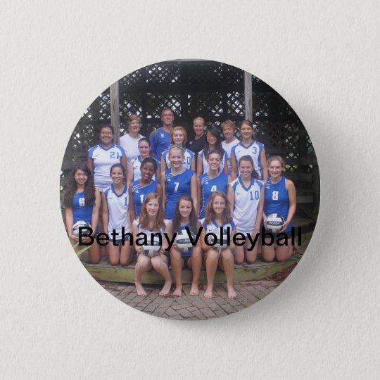 Bethany vball Gazebo 6 Cm Round Badge