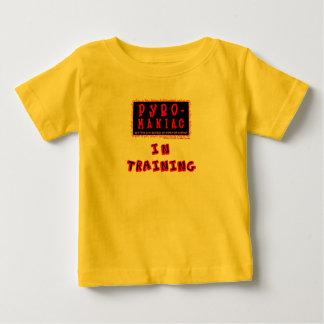 Bethel Pyro-Maniac in Training Child's One-piecer Baby T-Shirt