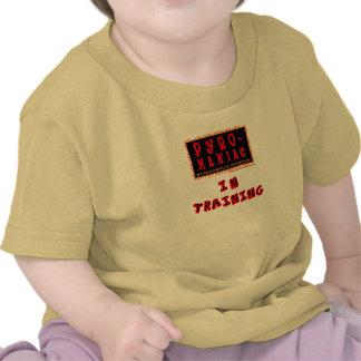 Bethel Pyro-Maniac in Training Child's One-piecer Tee Shirts